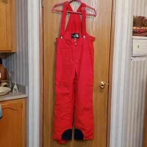 The North Face Red Snow Pants Size 10